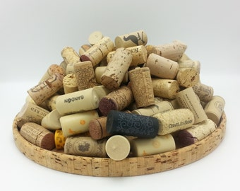 Lot of Wine Corks 140 Corks to Repurpose with.