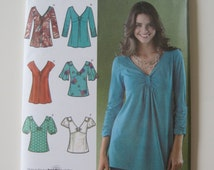Simplicity 3624 Misses' Pullover Blouse/Tunic Pattern