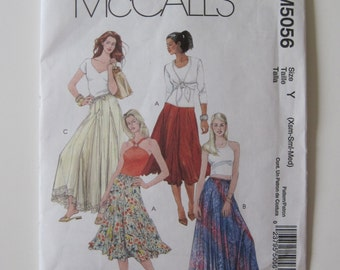 McCall's M5056 Flared Skirt Pattern...Out of Print!