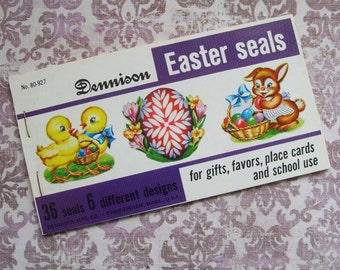 48 Vintage Dennison Easter Seals Full Book