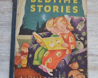 1942 Bedtime Stories Little Golden Book Gustaf Tenggren