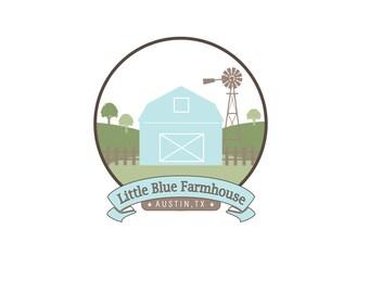 Farm Logo Design, Custom Logo Design