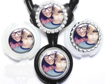 Photo Littmann Stethoscope Tag - Personalized Custom Picture or Photograph Stethoscope ID (A000)