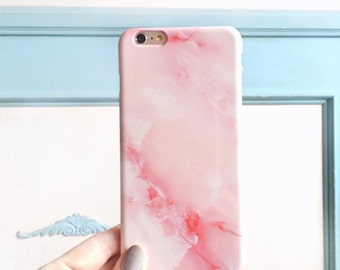 iPhone 6 Case Pink Marble iPhone 5S Case, Marble iPhone Case, Pink iPhone 6S Plus Phone Case Rose Blush Stone