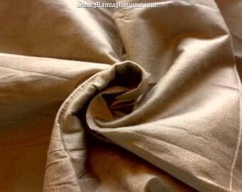 Ecru Tan Dupioni Silk Fabric By The Yard, Light Brown Indian Art Silk Fabric, Indian Fabric, Curtain Fabric, Dressmaking Silk Dupioni Fabric