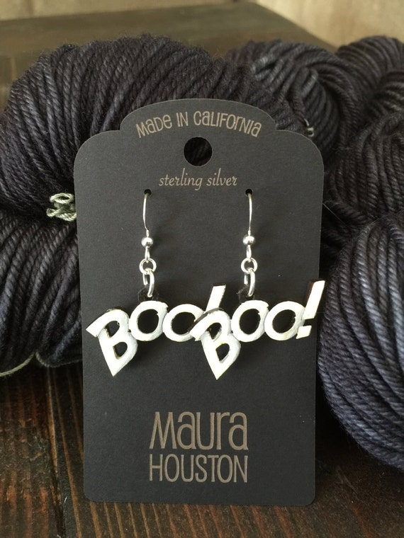 Halloween Boo! Earrings