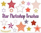 Star Photoshop Brushes Stars Photoshop Brushes Stars Silhouettes Brushes Star Digital Stamp