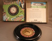 Vintage  Roulette Gambling  Board Game by Bar- Zim, 1960's Roulette Games, Collectible Games, Roulette, Board Games, Games