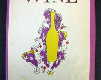 Easy to Make Wine by Gennery-Taylor - Vintage 1963