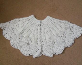 Crochet Pattern Communion Cape : Communion cape Etsy UK