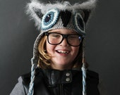 Crochet PATTERN Mystic Owl Hat Crochet Hat Pattern Includes Sizes for Newborn to Adult