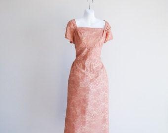 Muted Salmon, Ferman O'Grady Dress - Sz L