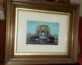 San Francisco Palace of Fine Arts picture Antique Frame