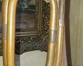 Antique Copper Bugle Musical Instrument Great Decorative piece