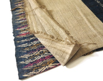 Summer Sale 15% Off - IDHVTG02 - Vintage Highland Laos Embroidery Sarong No.2