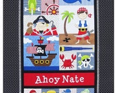 Pirate's Pre-cut Pre-fused Applique Kit by Amy Bradley Designs for Lone Star Laser Company-SALE