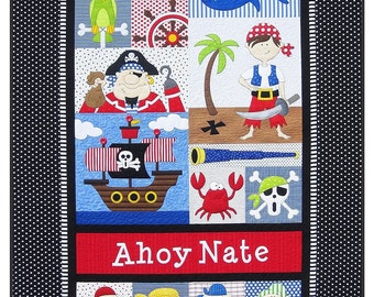 Pirate's Pre-cut  Applique Kit