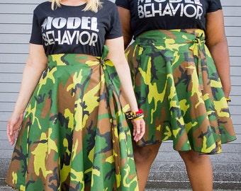 Model Behavior T shirt Black and Silver