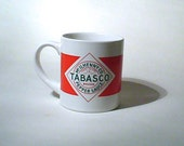 Tabasco Coffee Mug, McIlhenny Co Pepper Sauce