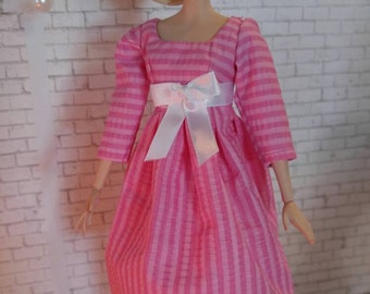 Handmade OOAK Barbie Doll Dress
