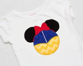 Apple Princess Mouse Ears Shirt