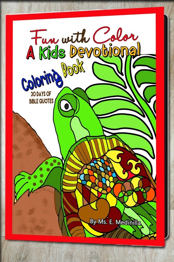 devotional coloring pages - devotional coloring book for kids bible quotes to meditate