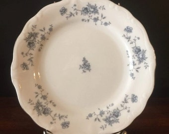 Blue Garland - Thailand - Traditions by Johann Haviland - Bread & Butter Plate