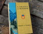 A DRAMA in SUNSHINE Vintage Lined Notebook