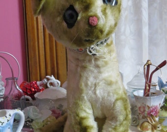Vintage Kitten Plush-Retro-Toy