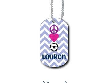 Soccer Bag Tag - Soccer Luggage Tag - Personalized Bag Tag - Lunch Box Tag - Custom Tag - Zipper Pull - Mini Tag