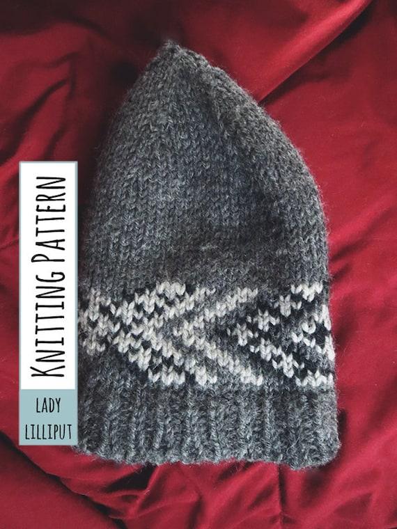 KNITTING PATTERN Fair Isle Beanie / Stranded Colorwork Hat
