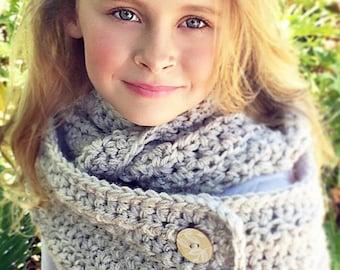Crochet Cowl Scarf Pattern, Cowl Crochet Pattern, Women's Scarf Crochet Pattern, Crochet Pattern, Child Crochet Cowl Pattern, Scarf Pattern