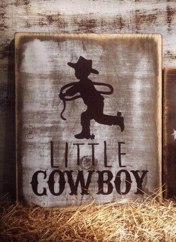 Rustic cowboy sign cowboy nursery decor cowboy baby bedding