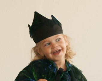 Gown and crown set for kids, Costume for kids, Gift for children