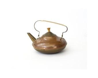 Vintage Copper Teapot / Holland