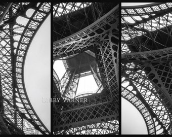 Views of the Eiffel Tower Paris France - Free Shipping in US -