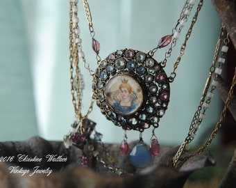 """SOLD--Layaway For Jan-- Payment #3-- """"Portrait Of A Princess"""""""