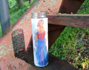 Freya Pagan Prayer Candle