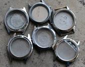 Mens Wrist Watch Cases -- set of 6 -- D9