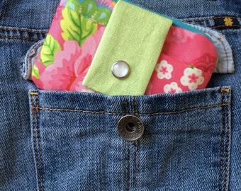 Small Wallet - Girls Wallet - Small Womens Wallet - Zipper Coin Purse - Cardholder Wallet - Minimalist Wallet - Coin Pouch