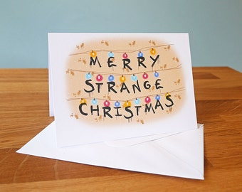 """Shop """"stranger things christmas"""" in Paper & Party Supplies"""