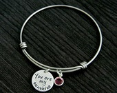 Alex and Ani You are My Sunshine Hand Stamped Bangle Bracelet