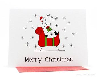 Rude Christmas Cards  Scribbler