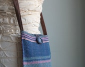 Perfect Pouch - Handwoven Growler Bag - Everyday Crossbody Purse