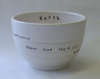 Earth Porcelain Bowl