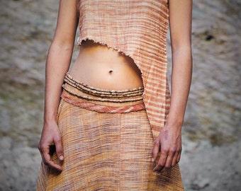 Long Point Pixie Khadi cotton Top ~