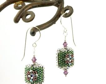 Beaded Earrings by Sharri Moroshok