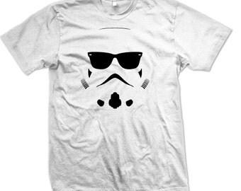 Storm Trooper T-Shirt Glasses Star Wars Tee