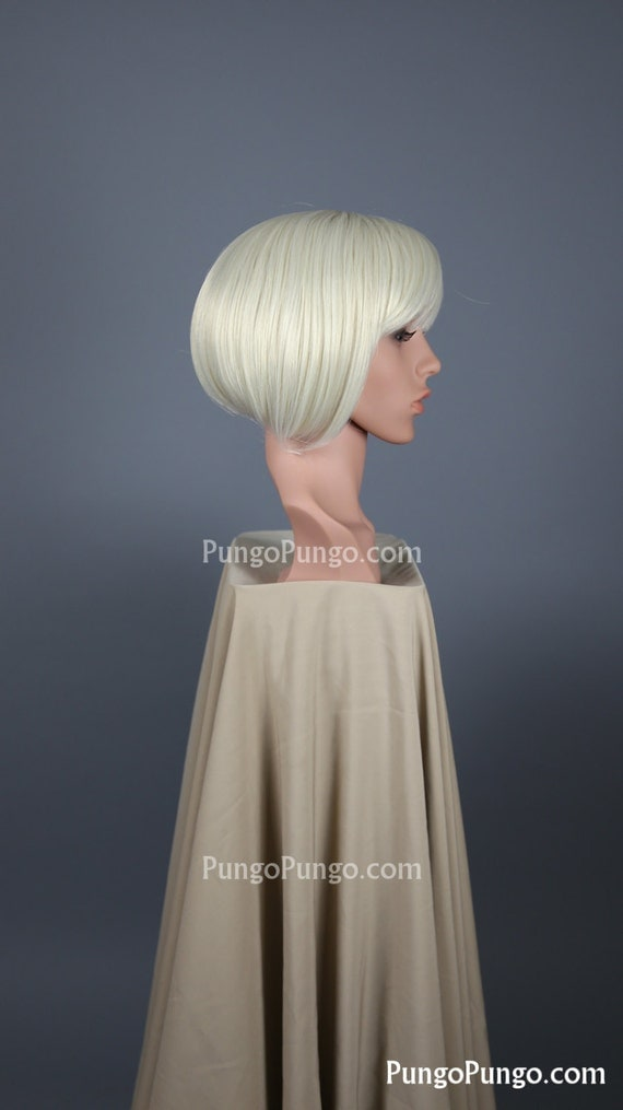 White Blonde Cosplay Wig 52
