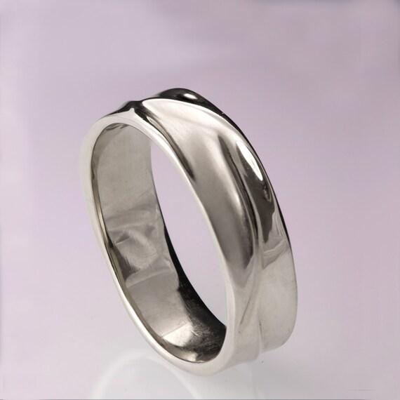 Waves No 5 Platinum Ring Platinum Wedding Ring Platinum